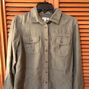 J. Crew Army Green shirt-jacket